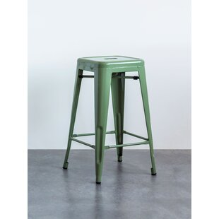 Ayles Metal 26 Bar Stool by Bungalow Rose