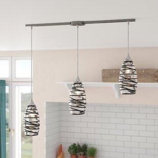 Goudy 3-Light Cluster Pendant by Brayden Studio