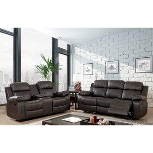 Red Barrel Studio Kogelscha Reclining Configurable Living Room Set