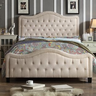 Sieber Upholstered Panel Bed by Winston Porter