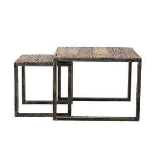 Eaves 2 Piece Nest Of Tables By Union Rustic