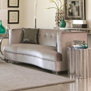 Southam Transitional Loveseat by Everly Quinn