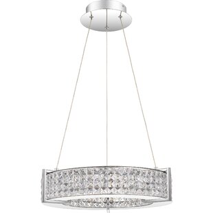 Mercer41 Madalynn 1-Light Drum Pendant