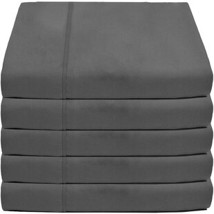 Crespo Flat Top 5 Piece Microfiber Sheet Set