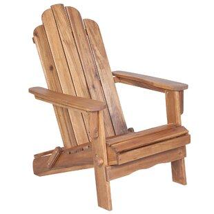 Imane Solid Wood Folding Adirondack Chair By Birch Lane™ Heritage