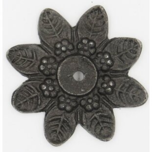 Antique Star Shaped Knob Backplate