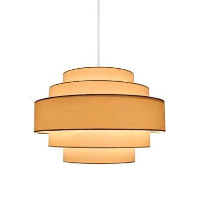 Urbanest Teal Silk Bell Chandelier Lamp Shade, 3 inch by 5