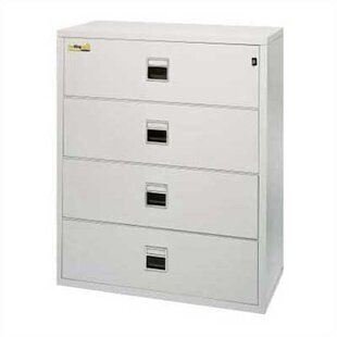 FireKing Fireproof 4-Drawer Lateral Signature File