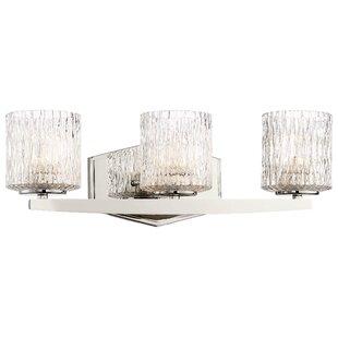 Orren Ellis Campas 3-Light LED Vanity Light
