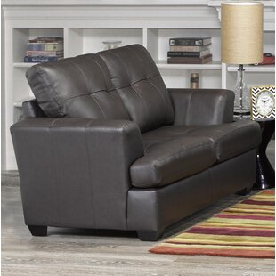 Shop For Cowhill Leather Loveseat by Orren Ellis Reviews (2019) & Buyer's Guide