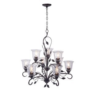 Master Piece Airil 9 Light Shaded Traditional Chandelier From Red Barrel Studio Is Best Shaded Chandelier