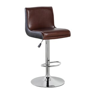 eurosports Adjustable Height Swivel Bar Stool