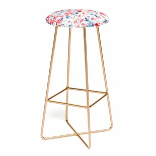 Ninola Design Liberty Colorful Petals 25 Bar Stool East Urban Home