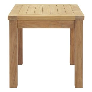 Elaina Solid Wood Side Table