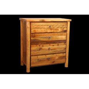 Jorgensen 4 Drawer Chest with Round Legs