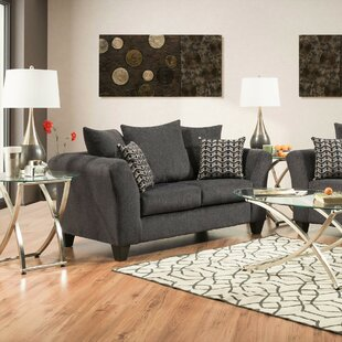 Strohm Charcoal Loveseat