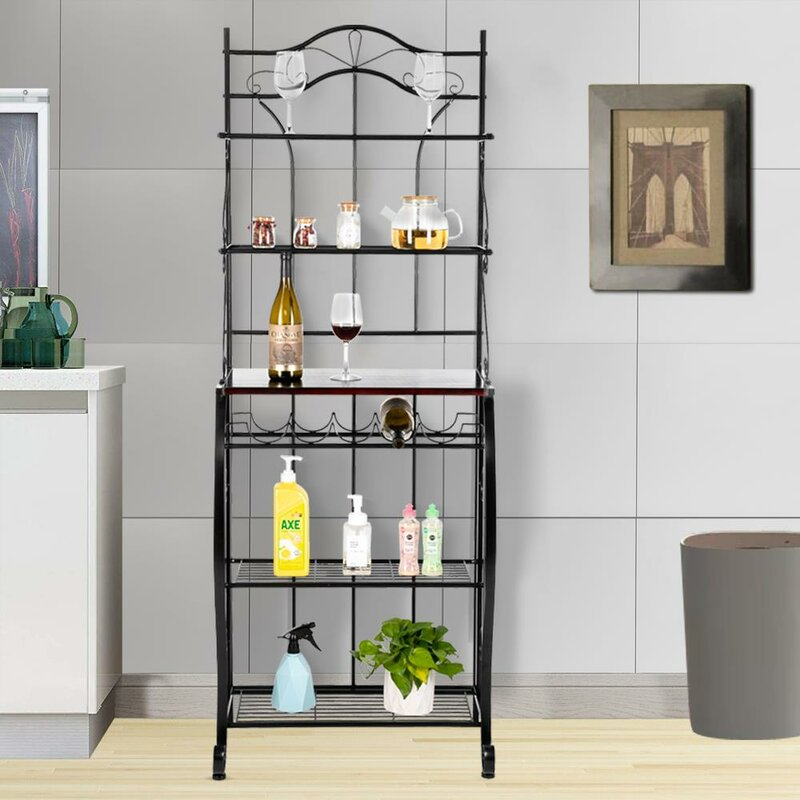 rosanne 25 iron standard baker s rack with microwave compatibility