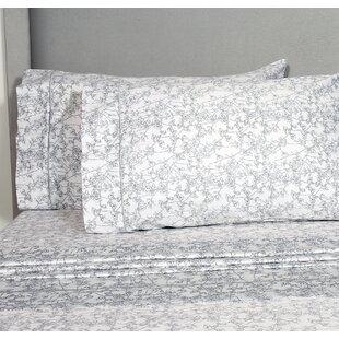 One Allium Way Predmore 400 Thread Count 100% Cotton Sheet Set