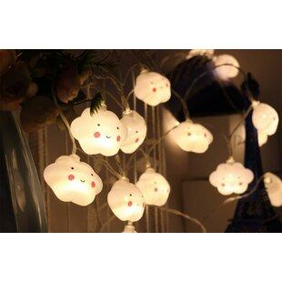 Anton Battery-operated Cloud 20 Light Novelty String Lights