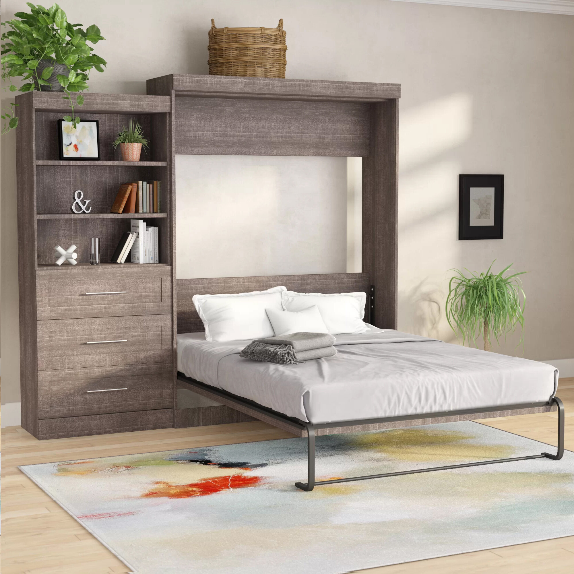 Folding Bed With Shelves Marcuscable Com