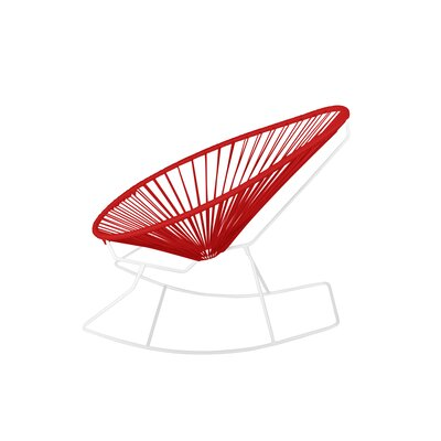 Fine Marvine Rocking Chair Brayden Studio Color Redwhite Lamtechconsult Wood Chair Design Ideas Lamtechconsultcom