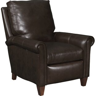 Haskins 3-Way Leather Manual Recliner Bradington-Young Wonderful