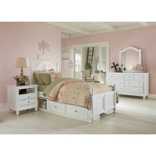 Order Javin Twin Panel Bed with Storage By Harriet Bee