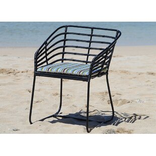 Pemberton Patio Dining Chair with Cushion by Brayden Studio