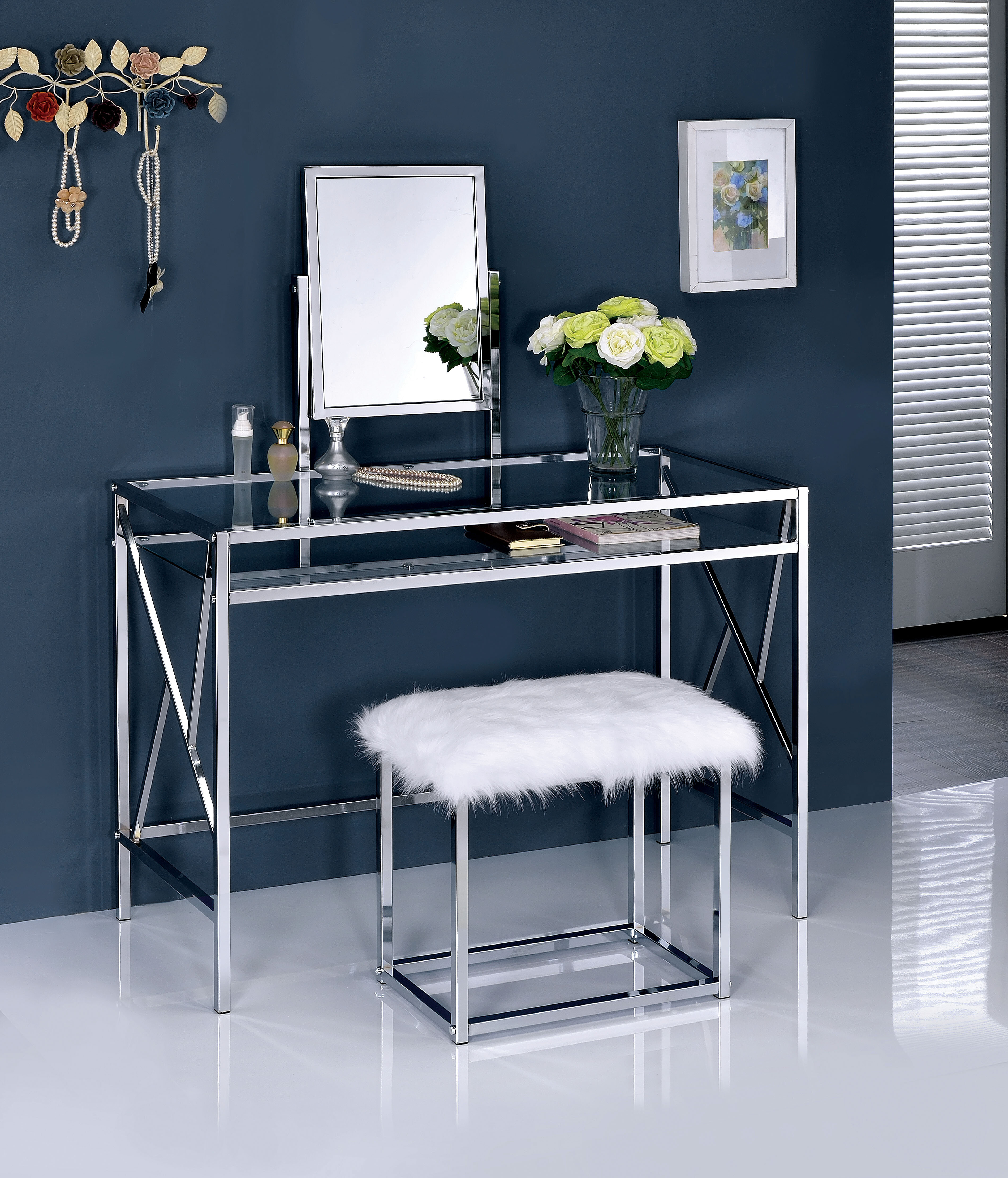 enid contemporary vanity set with mirror reviews allmodern