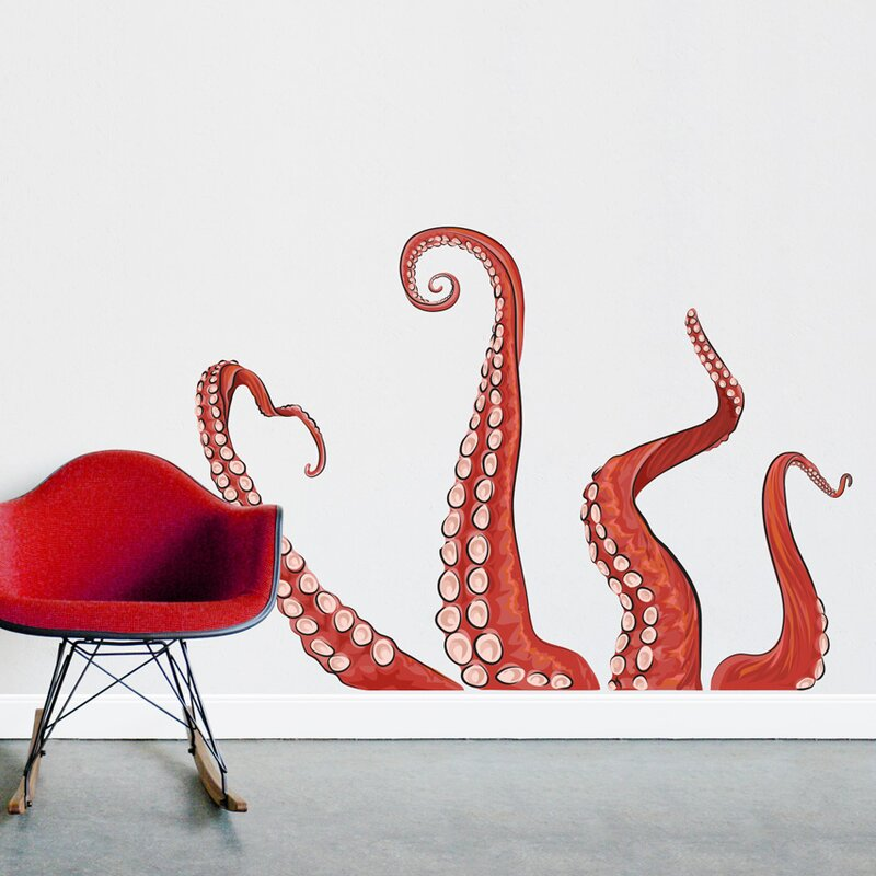 Ocropus Tentacles Printed Wall Decal