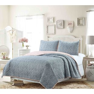 Layfield Reversible Coverlet Set