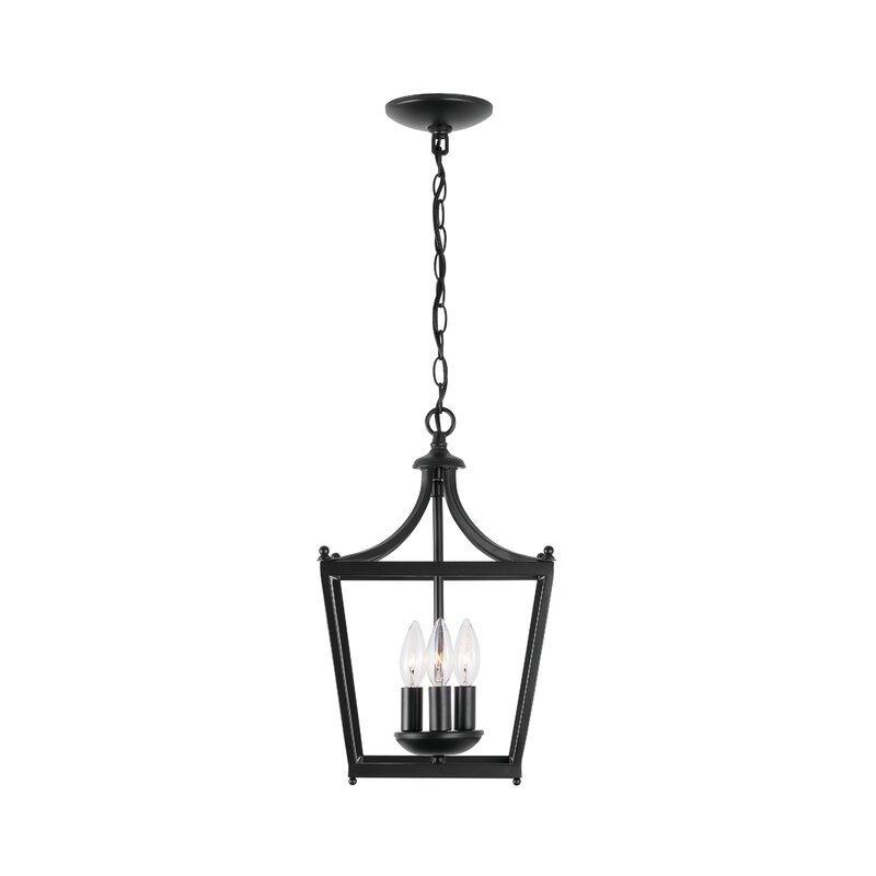 Antonia 3 - Light Lantern Geometric Pendant