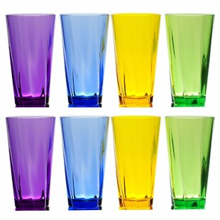 Fulford 8-Piece 21 oz. Plastic Drinking Glass Set