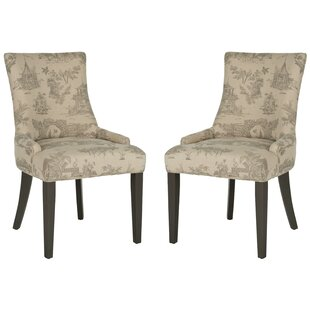 Janet Upholstered Dining Chair (Set of 2) by Ophelia & Co.