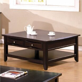 Hubbert Square Coffee Table with Storage