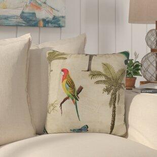 Sunbury Hearts of Palm Indoor/Outdoor Throw Pillow