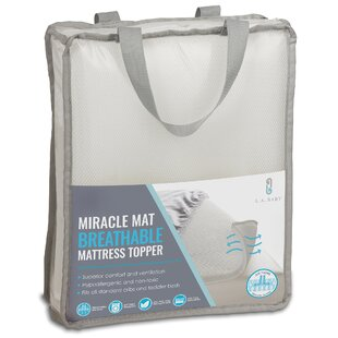 Amora Breathable Miracle Mat Superior Ventilation Crib Mattress Protector