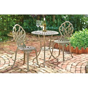 Wilkins 3 Piece Bistro Set