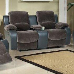 Beverly Fine Furniture Santiago Reclining Loveseat
