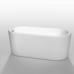 Affordable Ursula 59 x 27.5 Soaking Bathtub ByWyndham Collection