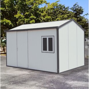Gable 13.5 Ft. W X 10.5 Ft. D Metal Storage Shed By Duramax Building Products