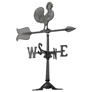 Rooster Accent Weathervane By Whitehall Products
