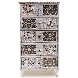 5 Drawer Chest Of Drawers By World Menagerie