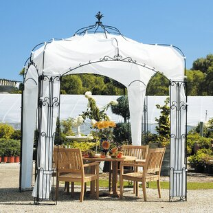 Allegro Pavilion 8 Ft. W x 8 Ft. D Metal Patio Gazebo by ACHLA