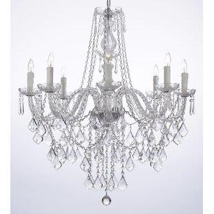 Astoria Grand Anton 8-Light Candle Style ..