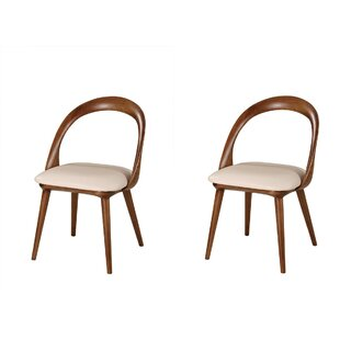 Coupon Saliba Mid-Century Dining Chair (Set of 2) by Brayden Studio Reviews (2019) & Buyer's Guide