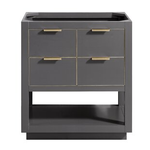 Wilbanks 30 Single Bathroom Vanity Base Only By Mercury Row