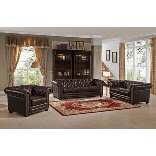 Shopping for Brittany 3 Piece Leather Living Room Set by 17 Stories Reviews (2019) & Buyer's Guide