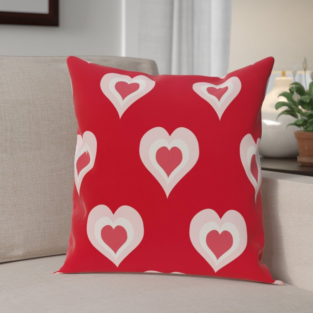 Valentine S Day Outdoor Throw Pillow