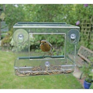 Perspex Decorative Bird Feeder By Garden Mile